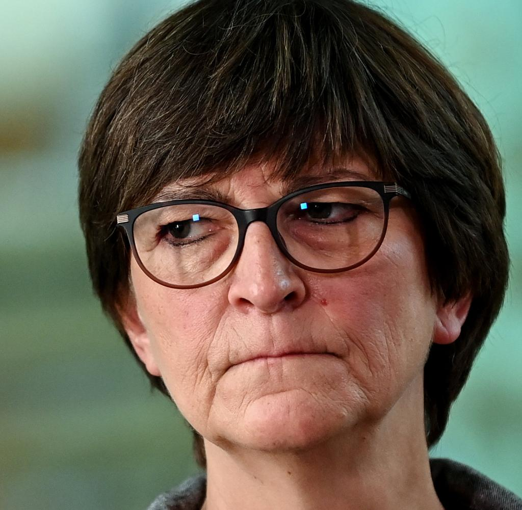 SPD-Chef Saskia Esken