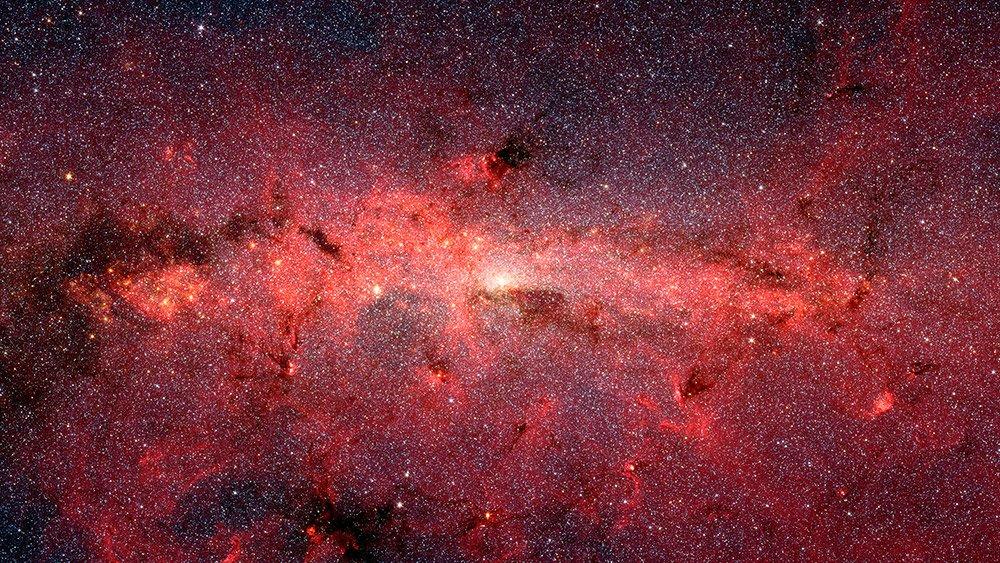 """""""Außerirdische"""" Bevölkerung im Zentrum der Milchstraße – eine Gruppe antiker Sterne könnte von einem Kugelsternhaufen im Zentrum gefallen sein"""