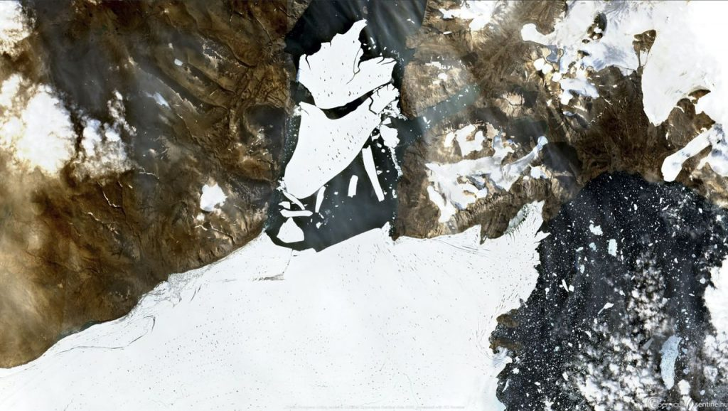 Arktis: Der Gletscher in Grönland verliert Eis von der Größe von Paris