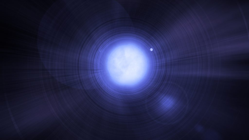 Astronomie: Ein eisiger Planet dreht sich um die Leiche des Sterns