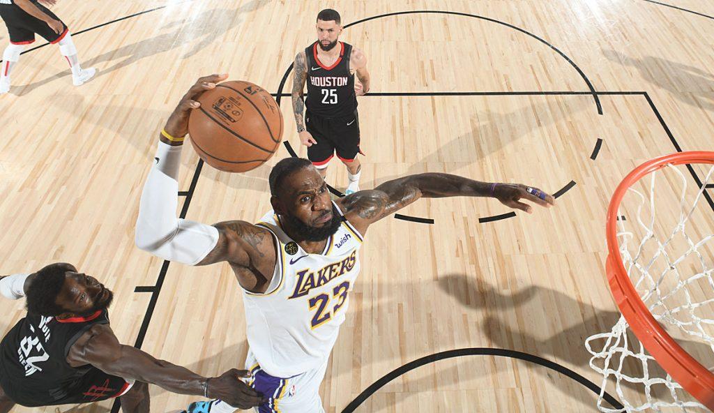 Die Los Angeles Lakers schießen in Spiel 5 die Houston Rockets ab und stehen im Finale der Western Conference