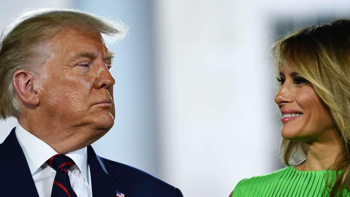 First Lady verteidigt Trump in Streit um US-Soldaten