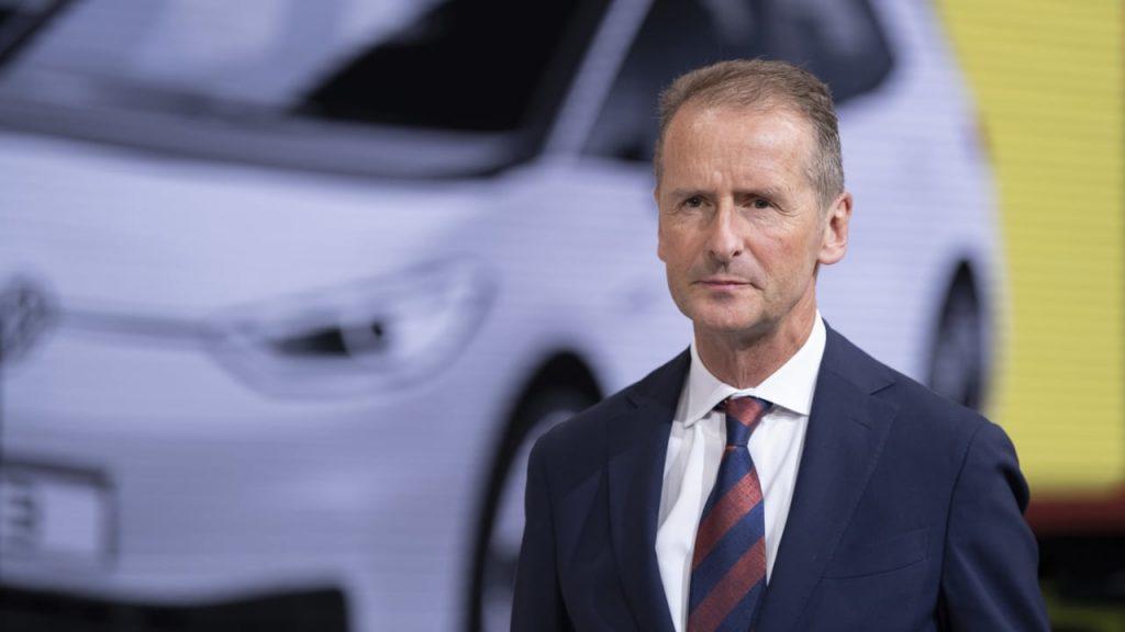 VW-Chef Diess warnt vor zusätzlichen Arbeitsplatzverlusten — Neue EU-Klimaziele