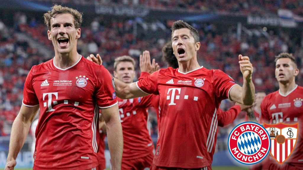 Finale in Budapest – Der FC Bayern gewann auch den Supercup International Football