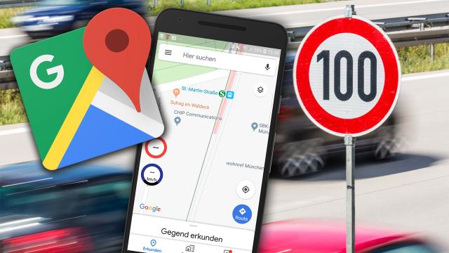 Geschwindigkeitsbegrenzung in Google Maps anzeigen: So können Sie die Funktion einfach nachrüsten