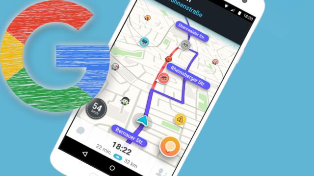 Google Maps: Alternative Waze mit Spurassistent