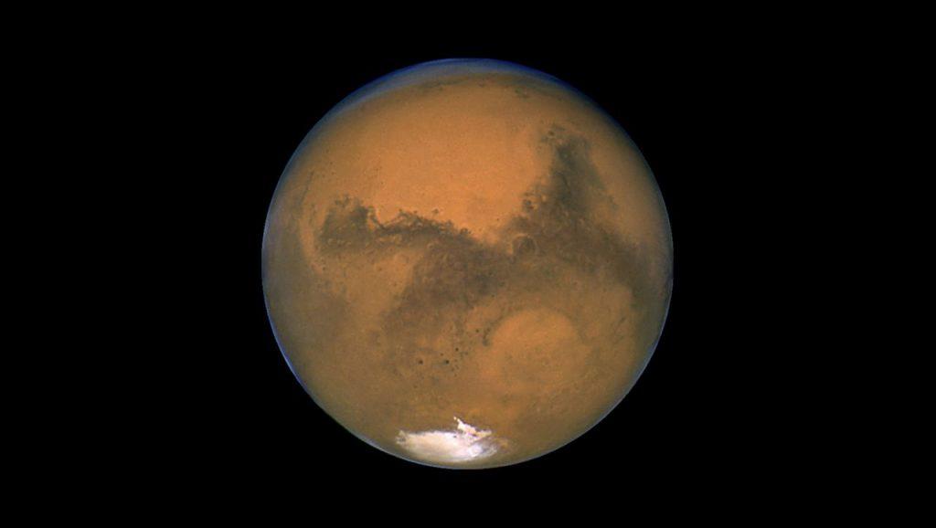 Mars: Seen, die unter der Eisdecke am Südpol des Planeten entdeckt wurden