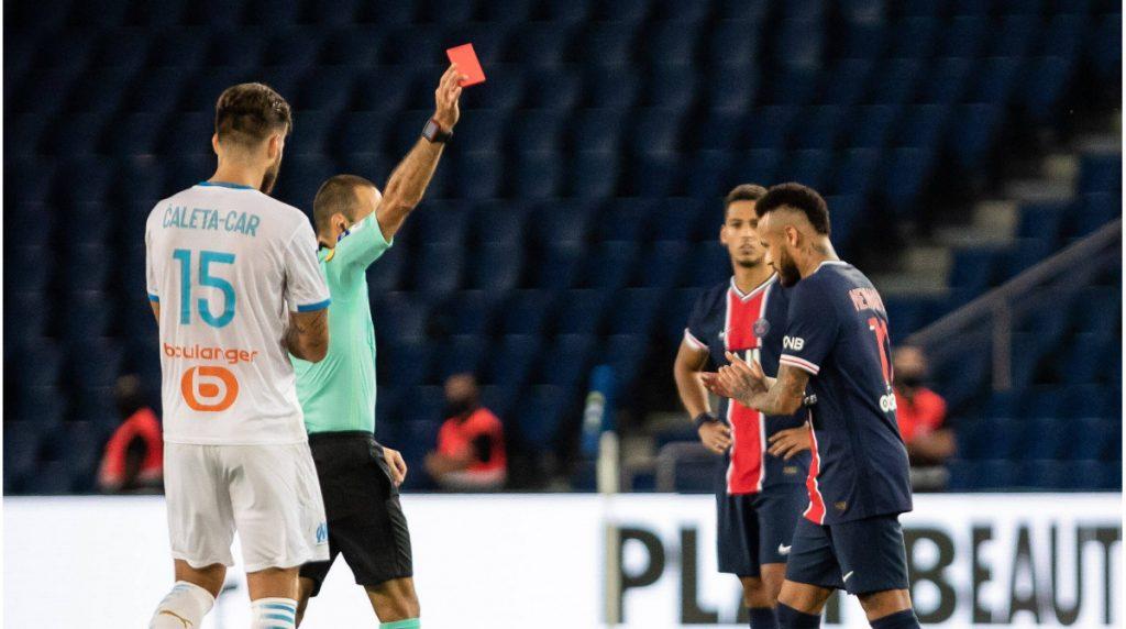 Rot für Neymar & Co .: PSG verliert in der Verlängerung gegen OM - 5 Entlassungen