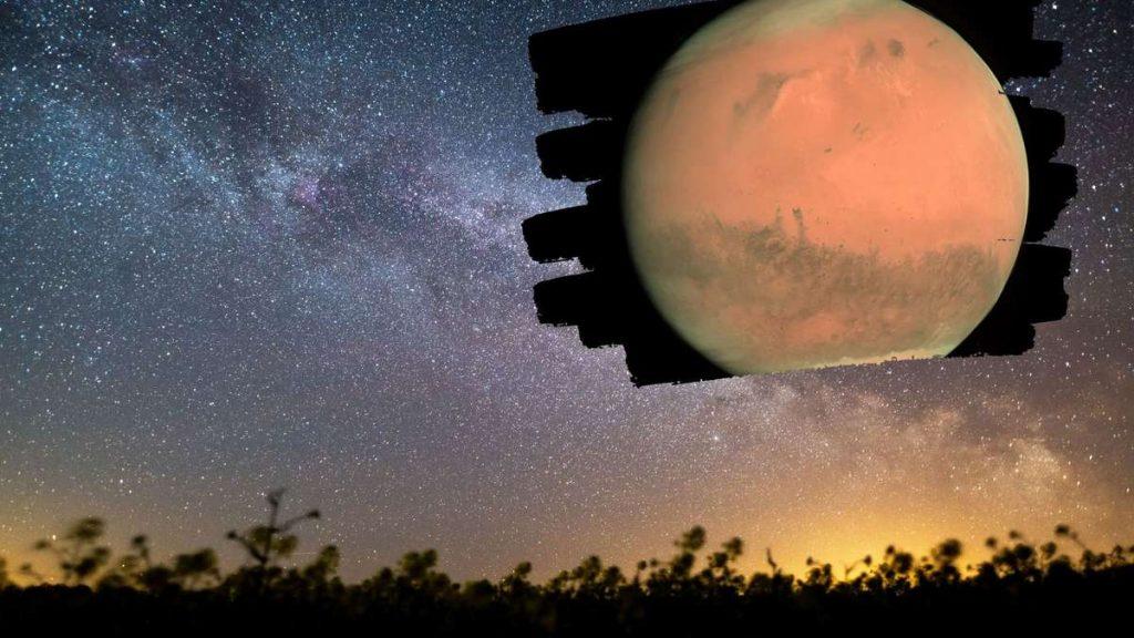 Sehen Sie den Mars und den Mond am Himmel: Das Spektakel ist für Oktober geplant