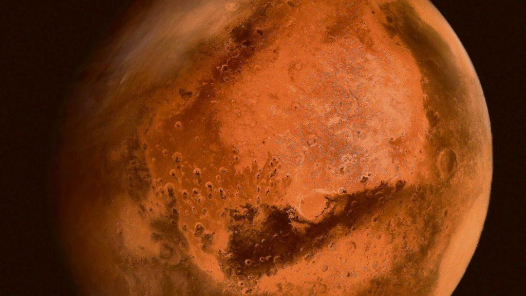 """Mit dem """"Blauen Mond"""" als Duo: Im Oktober ist der Mars der Stern am Nachthimmel - Führer"""