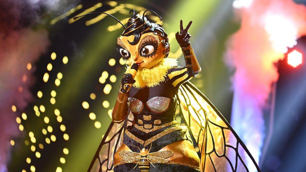 Diese Schauspielerin trug ein Bienenkostüm