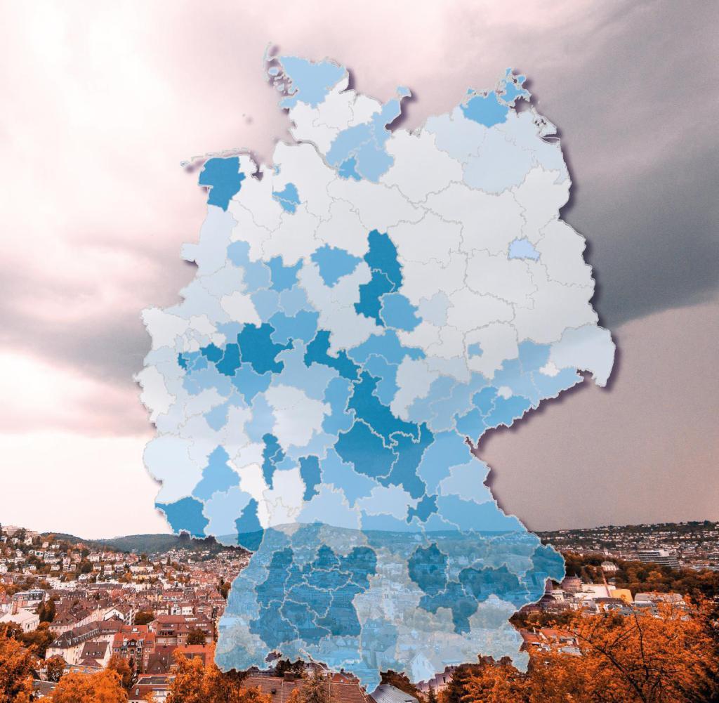 Der Industriestandort Stuttgart ist eine der am stärksten von Kurzarbeit in Deutschland betroffenen Regionen