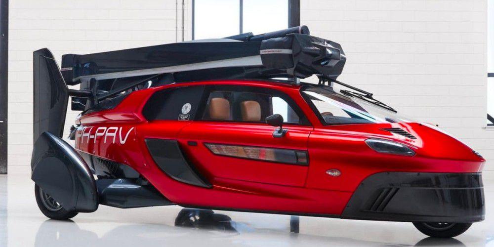 PAL-V: Ein fliegendes Auto mit einer Geschwindigkeit von 160 km / h ist jetzt für die Straße zugelassen
