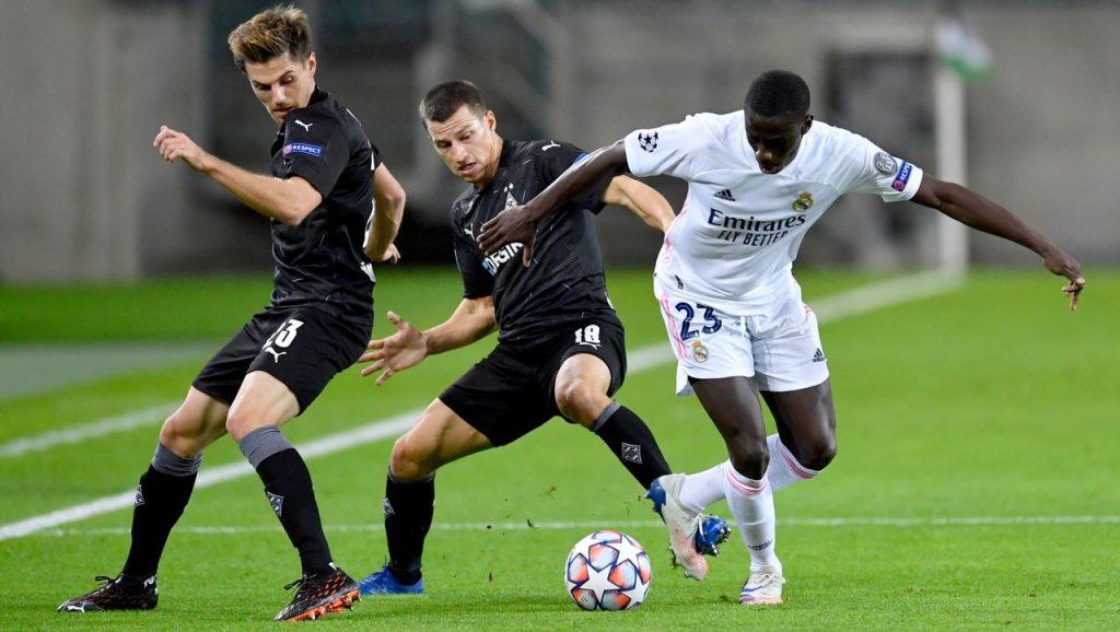 Borussia Mönchengladbach spielte den Sieg gegen Real Madrid in der Champions League aus