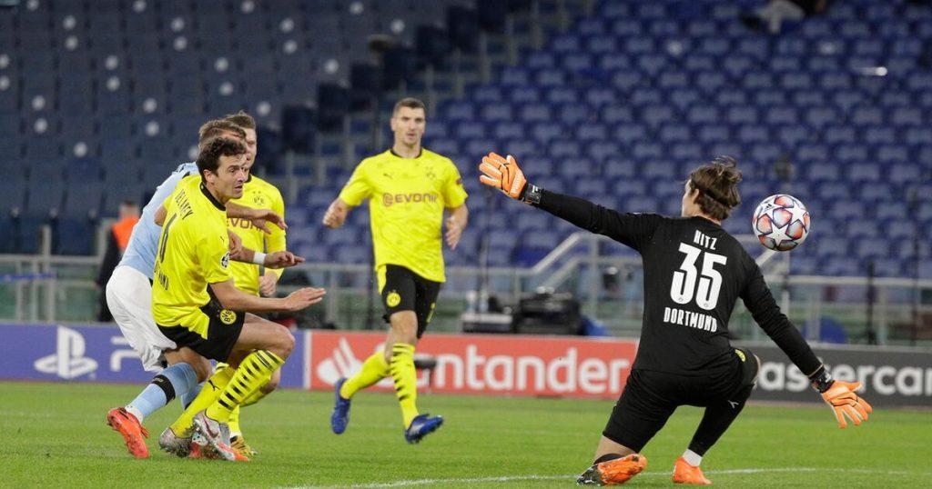 Der BVB verpasst den Start im Lazio Rome - RB Leipzig souverän