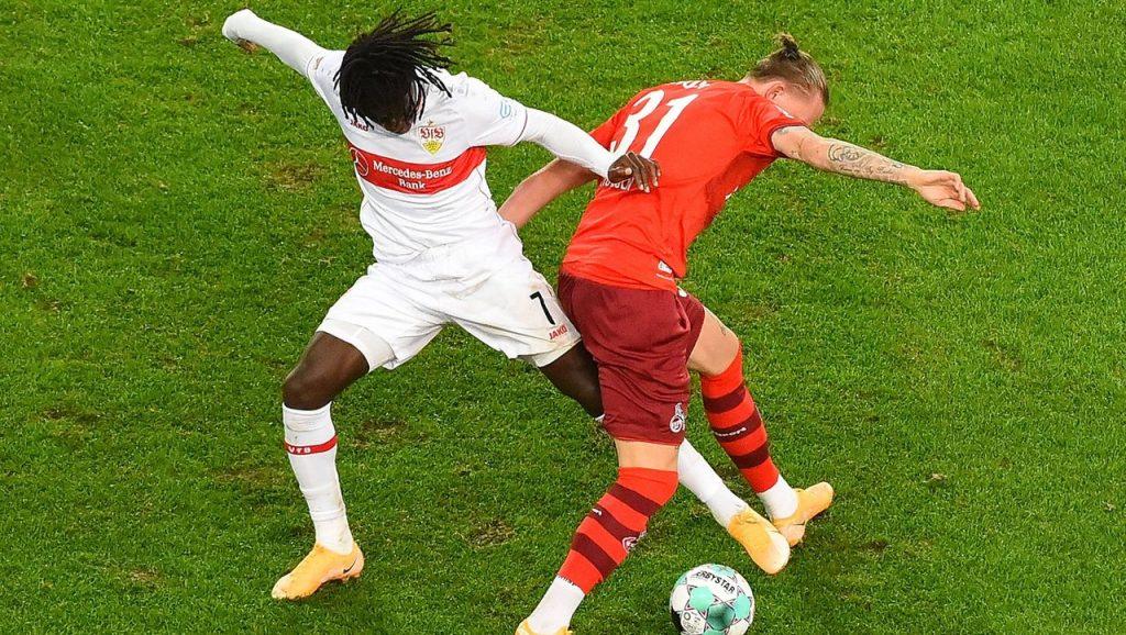 Fußball Bundesliga: 1. Der FC Köln kassierte nach 23 Sekunden beim VfB Stuttgart