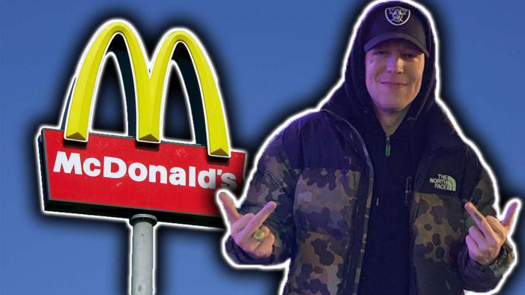 MontanaBlack: Gewalttätiger Ausbruch bei McDonald's – Streamer erhält Anzeige