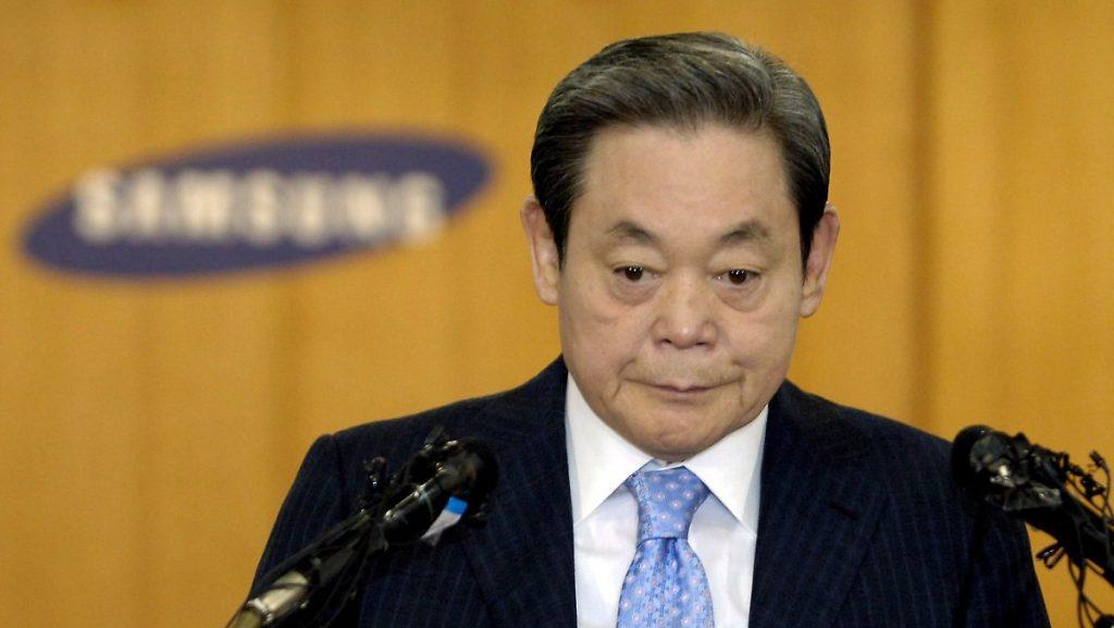 Südkoreas reichster Mann: Samsung-Vorsitzender Lee stirbt