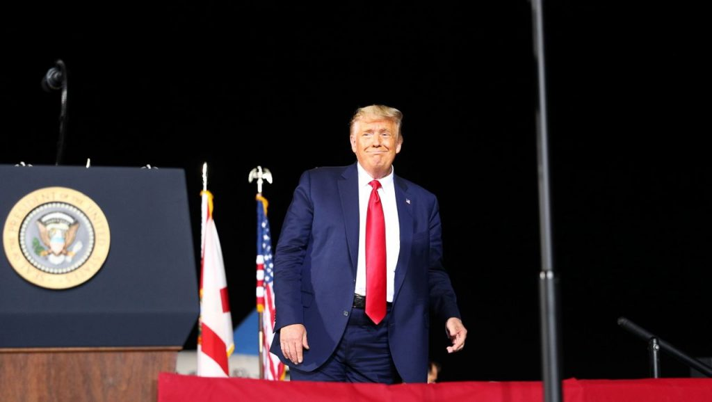 US-Wahlkampf: Donald Trump zieht Werbegeld aus Florida ab