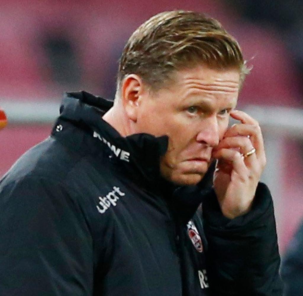 Kölns erfolgloser Trainer Markus Gisdol wird mit unangenehmen Zeiten konfrontiert sein