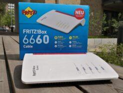 FritzBox 6660 Kabel