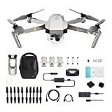 DJI Mavic Pro Platinum Fly Mehr Combo - Drohne mit 4K Full-HD-Videokamera inkl. Zubehör I 12 ...
