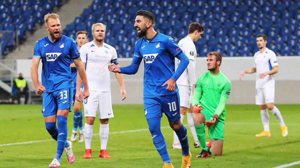 Auch Hoffenheim schlägt Liberec deutlich