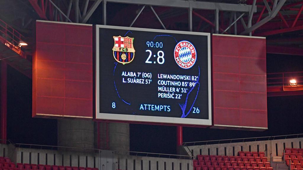 Historisches Debakel gegen den FC Bayern