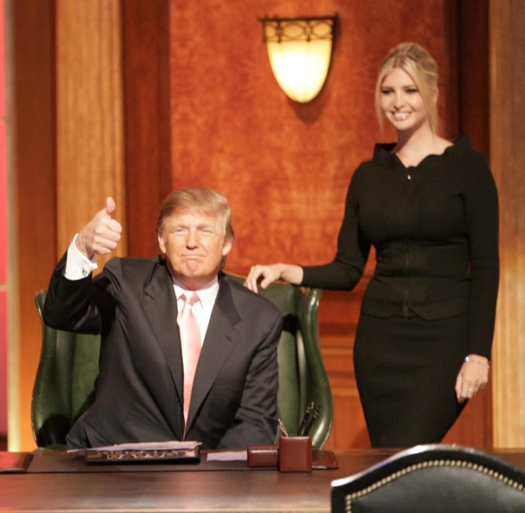 """""""Geh hart oder geh nach Hause"""": Donald Trump mit seiner Tochter Ivanka im Finale der sechsten Staffel von """"Der Lehrling"""""""