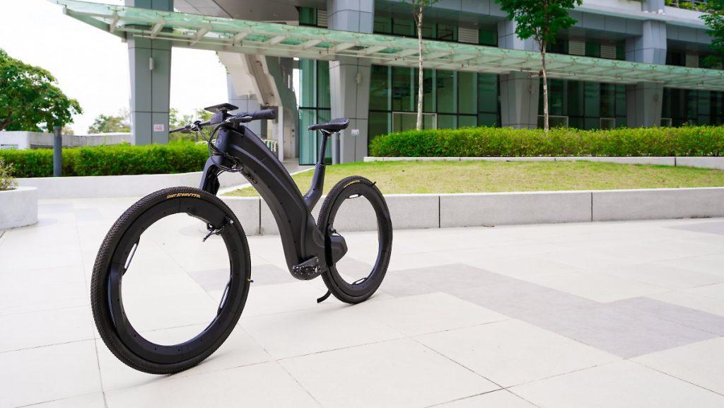 Futuristisch aus Beno: Reevo ist das erste hublose Fahrrad