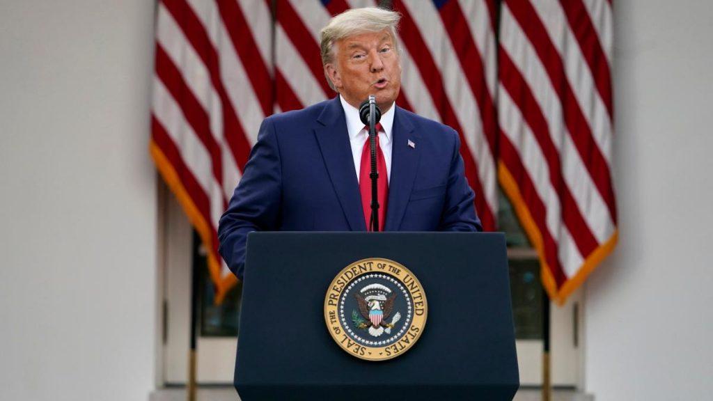 USA: Und dann gibt Donald Trump fast seine Wahlniederlage zu