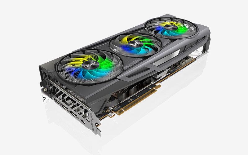 Saphir Radeon RX 6800 XT Nitro + SE