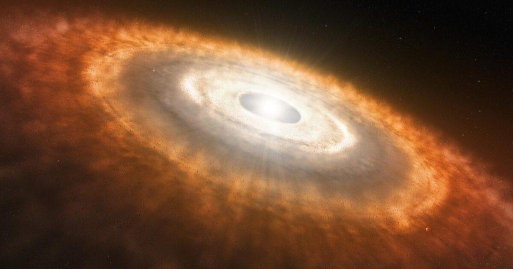 Unser Sonnensystem wurde in weniger als 200.000 Jahren gebildet