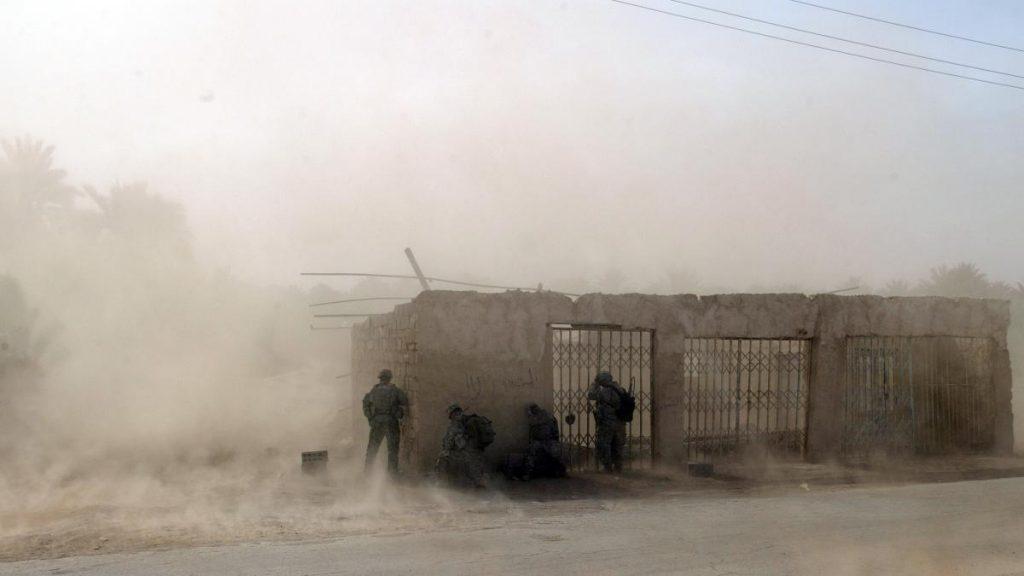 Irak Trump befiehlt Truppenabzug- kurz darauf trafen Raketen in der Nähe der US-Botschaft
