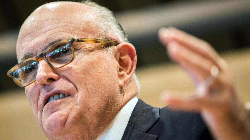 Donald Trump: Rechtsanwalt Rudy Giuliani sammelt astronomisches Gehalt