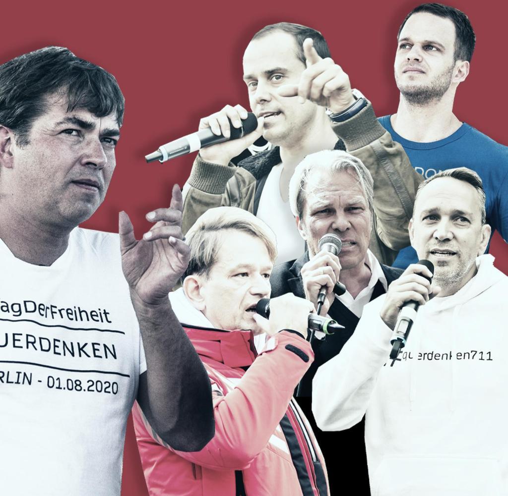 Es ist nur eine kleine Minderheit von Deutschen, die der Anti-Korona-Bewegung folgen, aber ihr Protest wird immer lauter
