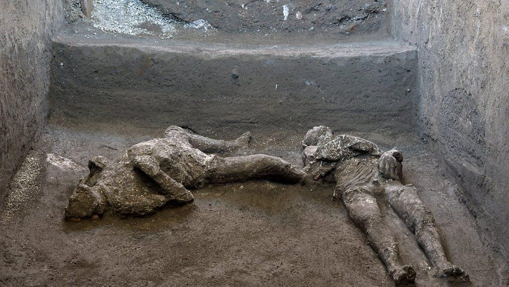 Wiederaufbau nach 2000 Jahren: Leichen aus Pompeji waren wahrscheinlich Herr und Sklave