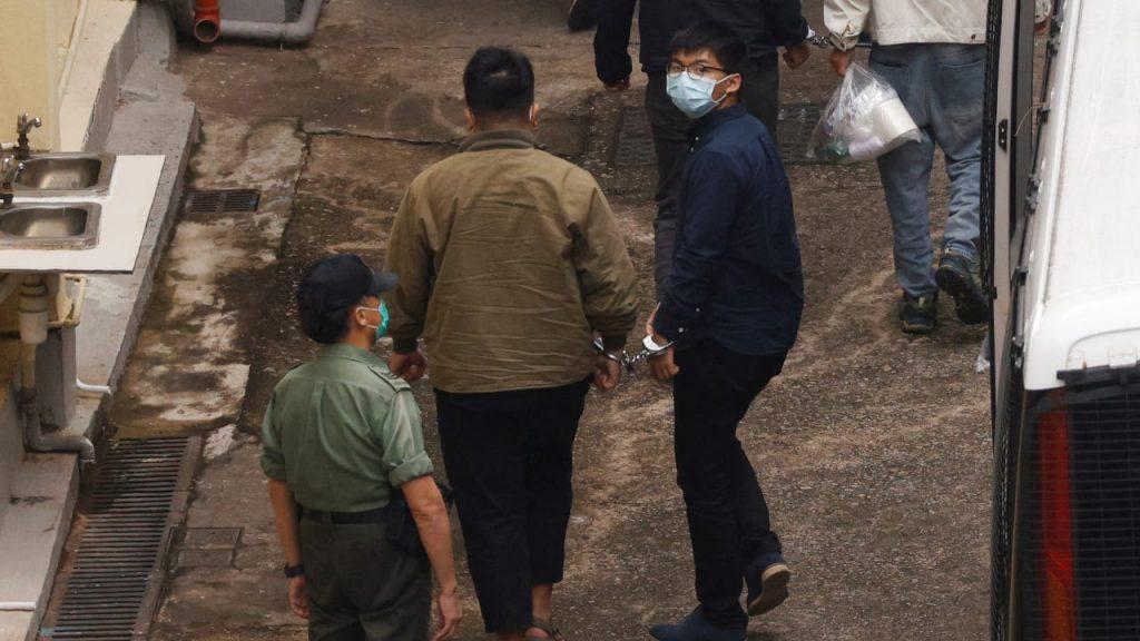Hongkonger Held Joshua Wong wieder im Gefängnis: Der Prozess endet am 2. Dezember - Politik im Ausland