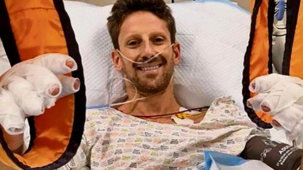 Formel 1: Romain Grosjean weiß noch nicht, wie seine Hände aussehen