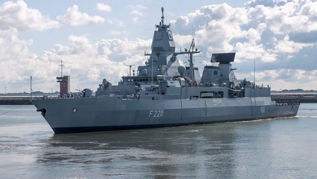 """Bundeswehr: Fregatte """"Hamburg"""" stoppt türkischen Frachter vor Libyen"""