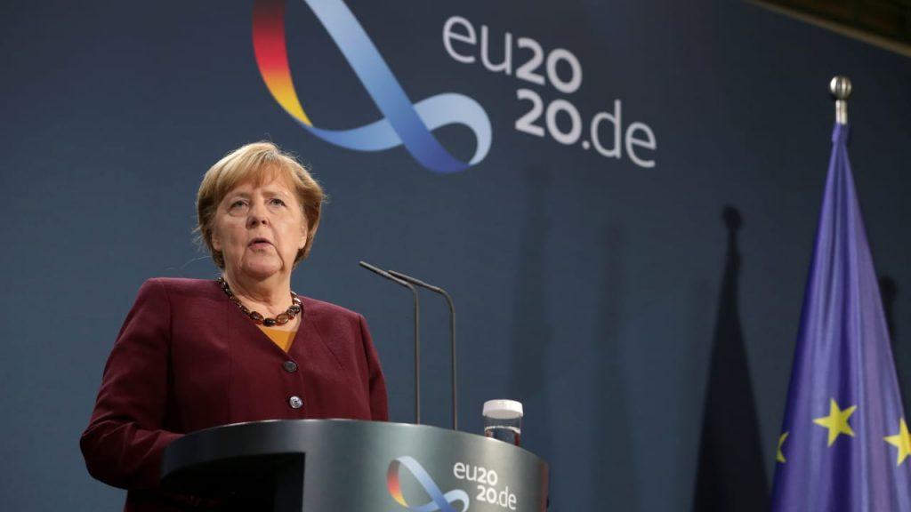 Corona: Merkel hofft schon im Dezember auf Impfung - Inlandsnachrichten