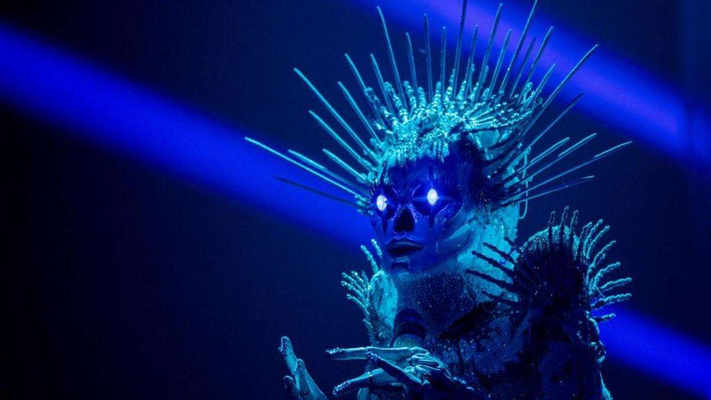 Die maskierte Sängerin (Prosieben / Sat.1): Sarah Lombardi veröffentlicht während der Skelett-Performance eine Instagram-Geschichte