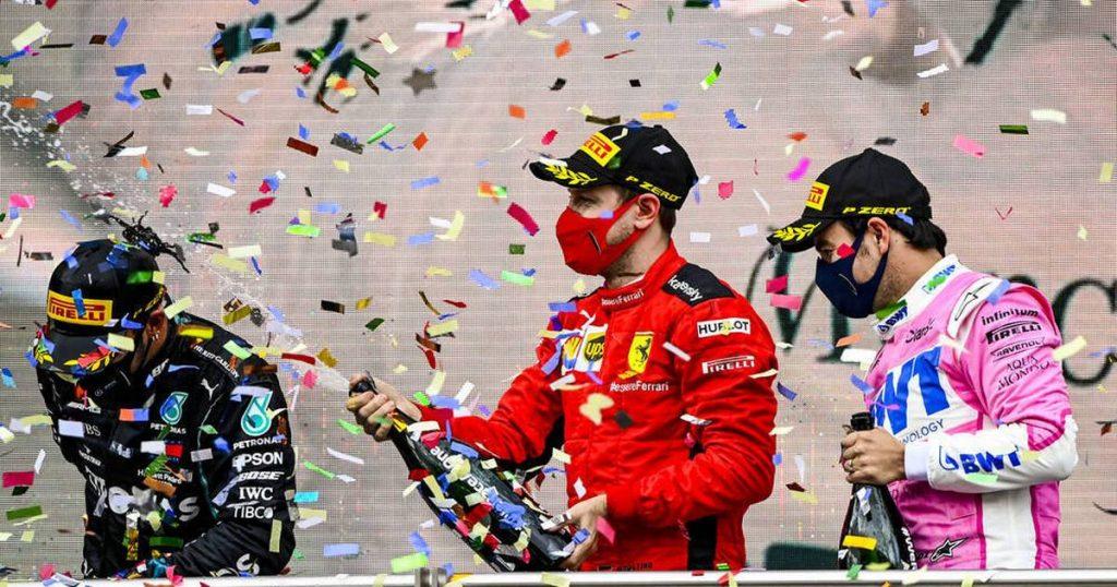 Formel 1: Sebastian Vettel glänzt für Ferrari