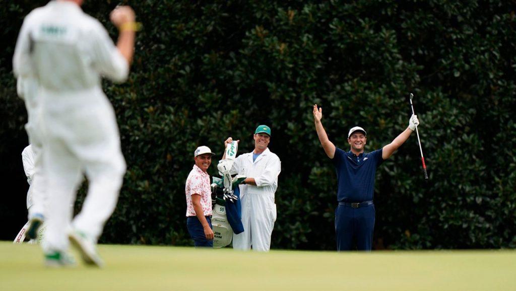 Hole-in-One im Golf: Jon Rahm schafft einen magischen Schlag beim Masters in Augusta