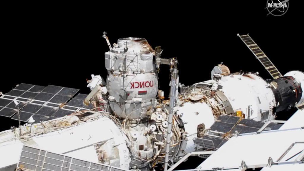ISS: Russische Astronauten machen Weltraumspaziergänge