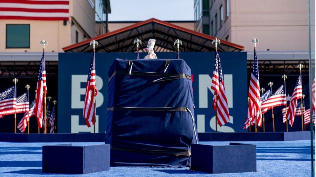 Live-Wahlen in den USA 2020: Joe Bidens erste Rede als gewählter Präsident erwartet