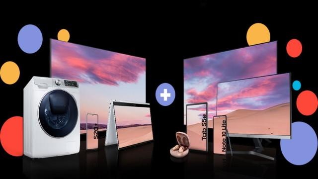 Samsungs riesige Rabattkampagne: Kaufen Sie ein Galaxy-Handy und erhalten Sie kostenlos einen 4K-Fernseher
