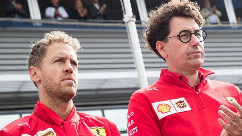 Sebastian Vettel: Verrückte Details enthüllt! Binotto spricht über den Anrufstornierungsanruf