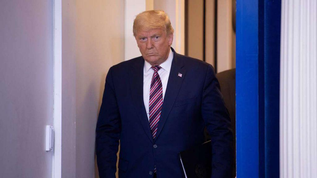 """US-Wahl 2020: Trump-Rede schockiert USA! Republikaner fassungslos, Star im Fernsehen den Tränen nahe - """"faschistisch"""""""