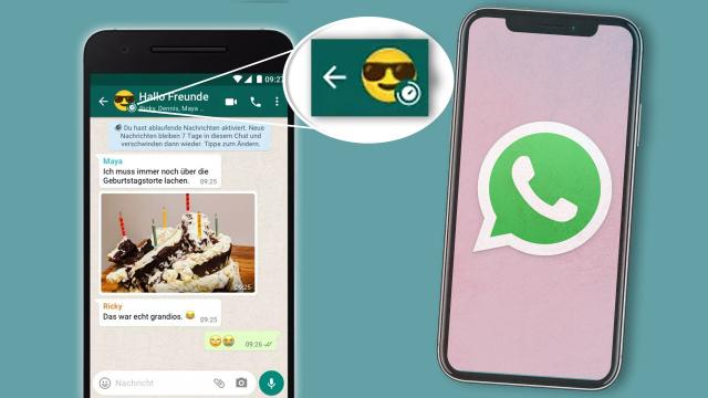 WhatsApp bekommt eine neue Funktion: Das heißt die kleine Uhr auf dem Profilbild
